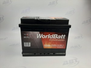 Akumulator World Batt 12V 55AH